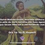 Salve Mamãe Oxum, dourada senhora da pele de ouro!