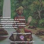 Salve Logunedé! Todo encanto canta, é só beleza…
