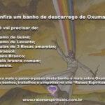 Confira um banho de descarrego de Oxumarê