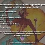 Confira uma simpatia de Logunedé para trazer amor e prosperidade!