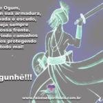 Salve nosso Pai Ogum, Orixá guerreiro, senhor dos nossos caminhos! Ogunhê!