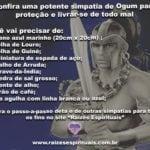 Potente simpatia de Ogum para obter proteção e livrar-se de todo mal