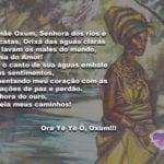 Mamãe Oxum, Senhora dos rios e cascatas, Orixá das águas claras!