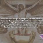 Confira uma Oração de Corpus Christi