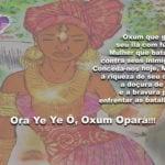 Salve Oxum Opará, doce senhora guerreira das cachoeiras!!!