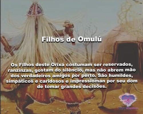 filhos de Omulú