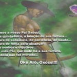 Pedimos a Oxóssi, nesta quinta-feira, a bênção de sua fartura…