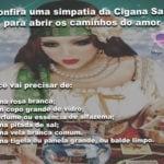 Confira uma simpatia da Cigana Sara para abrir os caminhos do amor