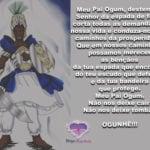 Salve nosso Pai Ogum, destemido Senhor da espada de fogo! Ogunhê!