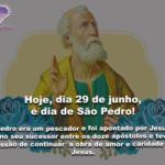Hoje, dia 29 de junho, comemoramos o dia de São Pedro!