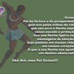 Oxóssi, Pai da fartura e da prosperidade, guie-nos pelas trilhas da vida…