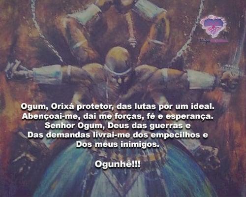 Ogum, Orixá protetor, das lutas por um ideal! Ogunhê!!!