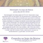 Mensagem dos búzios para 22/07/2018: Oxum abre o jogo de hoje