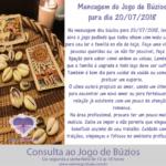 Mensagem dos búzios para 20/07/2018: Iemanjá abre o jogo de hoje