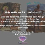 Hoje, 30 de Setembro, é dia de São Jerônimo, sincretizado com Xangô!!!