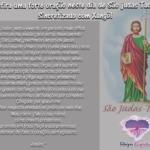 Neste dia de São judas Tadeu, confira uma forte oração a este Santo