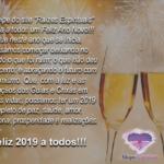 """A equipe do site """"Raízes Espirituais"""" deseja a todos um Feliz Ano Novo!!!"""