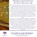 Mensagem do jogo de búzios para 28 a 30-12: Oxóssi abre o jogo