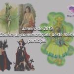 Janeiro de 2019 – Confira as comemorações deste mês e participe!