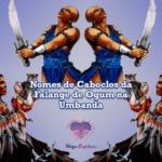 Nomes de Caboclos da Falange de Ogum na Umbanda