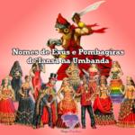 Nomes de Exús e Pombagiras de Iansã na Umbanda