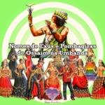 Nomes de Exús e Pombagiras  de Ossaim na Umbanda