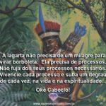 Salve a sabedoria do Caboclo Tupinambá! Okê Caboclo!