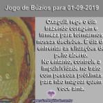 Confira o Jogo de Búzios para 01-09-2019