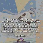 Que o amor de Oxalá nos cure de todo ódio, preconceito e desamor…