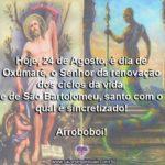 Hoje é dia de Oxumarê, Senhor da renovação dos ciclos da vida!