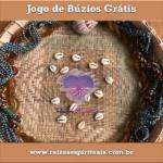 """Lançamento do Jogo de Búzios Grátis do site """"Raízes Espirituais"""""""