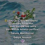 Salve os marinheiros, poderosas entidades da falange de Iemanjá