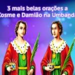 3 mais belas orações a Cosme e Damião na Umbanda