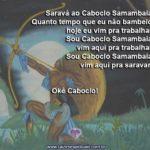 Saravá ao Caboclo Samambaia, nosso protetor. Okê Caboclo!