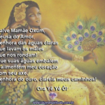 Salve Mamãe Oxum e suas benditas águas! Ora Yê Yê Ô!