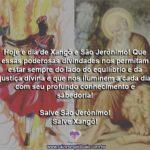 Hoje é dia de Xangô e São Jerônimo, dia 30 de setembro!
