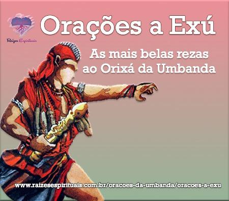 imagem do orixá exú com o título: Orações a Exú - As mais belas rezas ao orixá da Umbanda