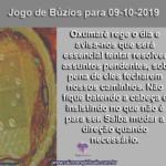 Confira o Jogo de Búzios para 09-10-2019: Oxumarê rege o dia