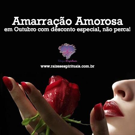 Amarração Amorosa em Outubro com desconto especial, não perca!