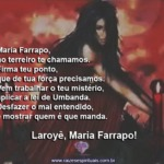 Maria Farrapo não é mulher com quem se mexe por qualquer besteira.