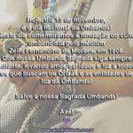 Hoje, 15 de novembro, é dia nacional da Umbanda!