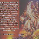 Oração a Omulú para ter proteção durante a semana