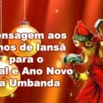 Mensagem aos filhos de Iansã para o Natal e Ano Novo na Umbanda