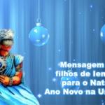 Mensagem aos filhos de Iemanjá para o Natal e Ano Novo na Umbanda