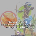 Oxóssi rejeita mel: confira um belo Itan que explica esta quizila de Oxóssi