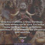 Orixá Exú é caminho, é força, é proteção… Laroyê, Exú!