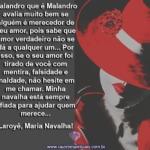 Maria Navalha trabalha na malandragem. Laroyê, Dona Navalha!