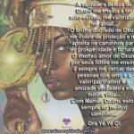 Que o manto dourado de Mamãe Oxum nos cubra com seu axé!