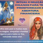 Ritual e Oração Ciganos para ter prosperidade e abertura financeira