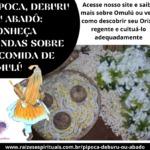 Pipoca, deburu ou abadô: conheça lendas sobre a comida de Omulú